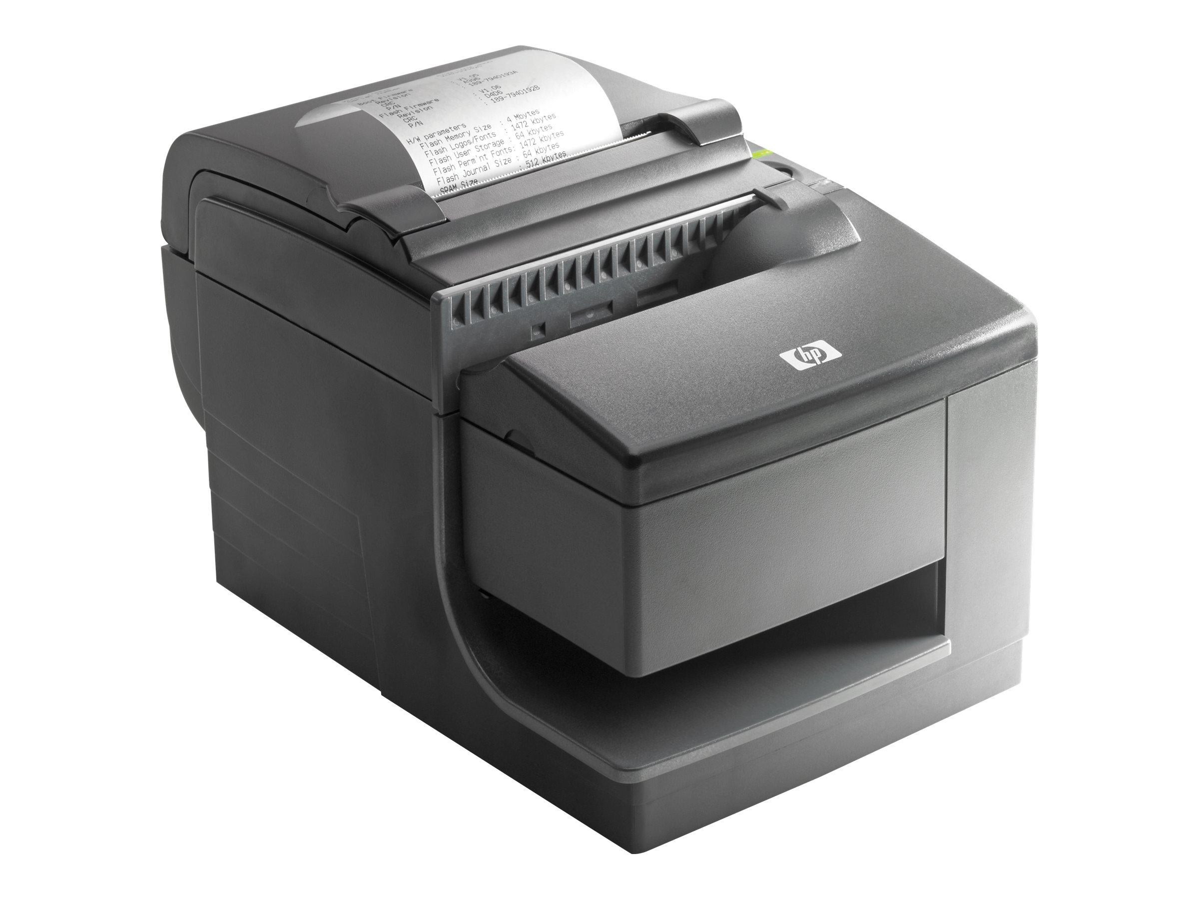 HP Hybrid Thermal Printer with MICR - receipt printer - two-color (monochrome) - direct thermal