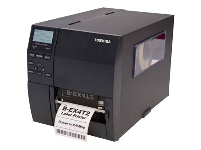 Toshiba TEC B-EX4T2 HS Label printer DT/TT 600 dpi up to 359.1 inch/min USB, LAN