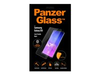 PanzerGlass Case Friendly sort, Krystalklar for Samsung Galaxy S10