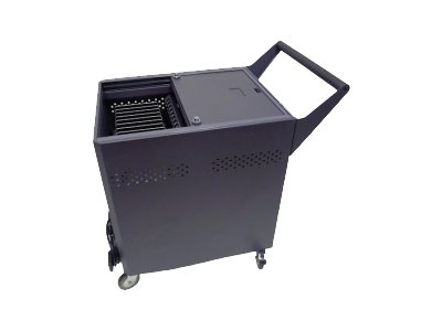 Datamation Systems DS-GR-T-S24-SC Cart for 24 tablets floor-standing