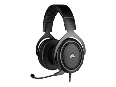 CORSAIR Gaming HS50 PRO STEREO Headset full size wired 3.5 mm jack carbon