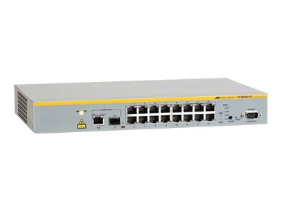 Allied Telesis AT 8000S/16 - Switch - verwaltet - 16 x 10/100 + 1 x Kombi-Gigabit-SFP - Desktop