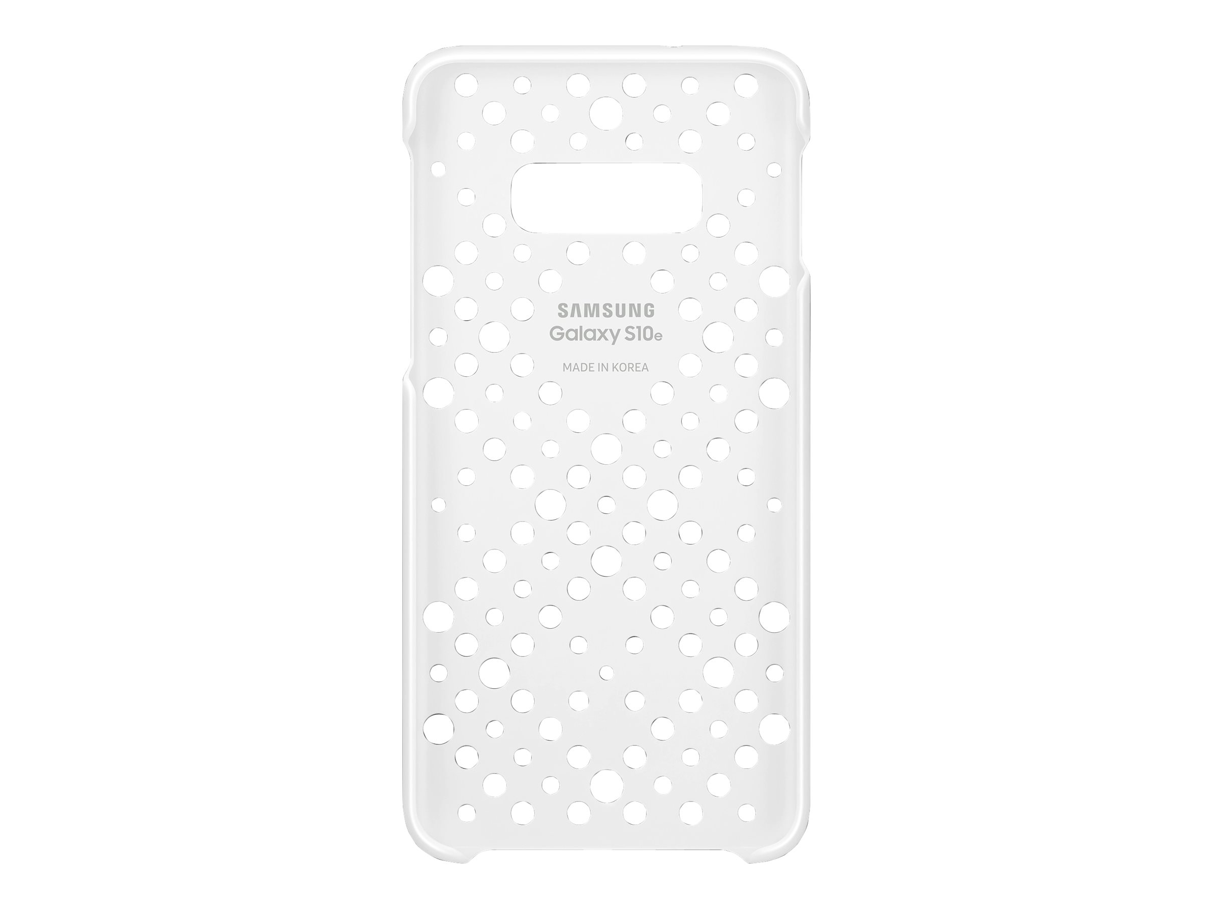 Samsung Pattern Cover EF-XG970 - back cover for cell phone