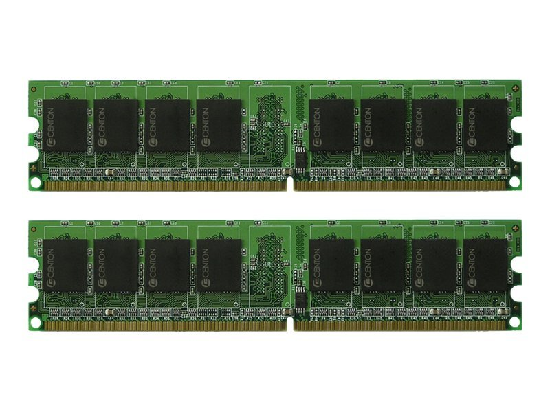 Centon memoryPOWER - DDR2 - kit - 4 GB: 2 x 2 GB - DIMM 240-pin - 667 MHz / PC2-5300 - unbuffered