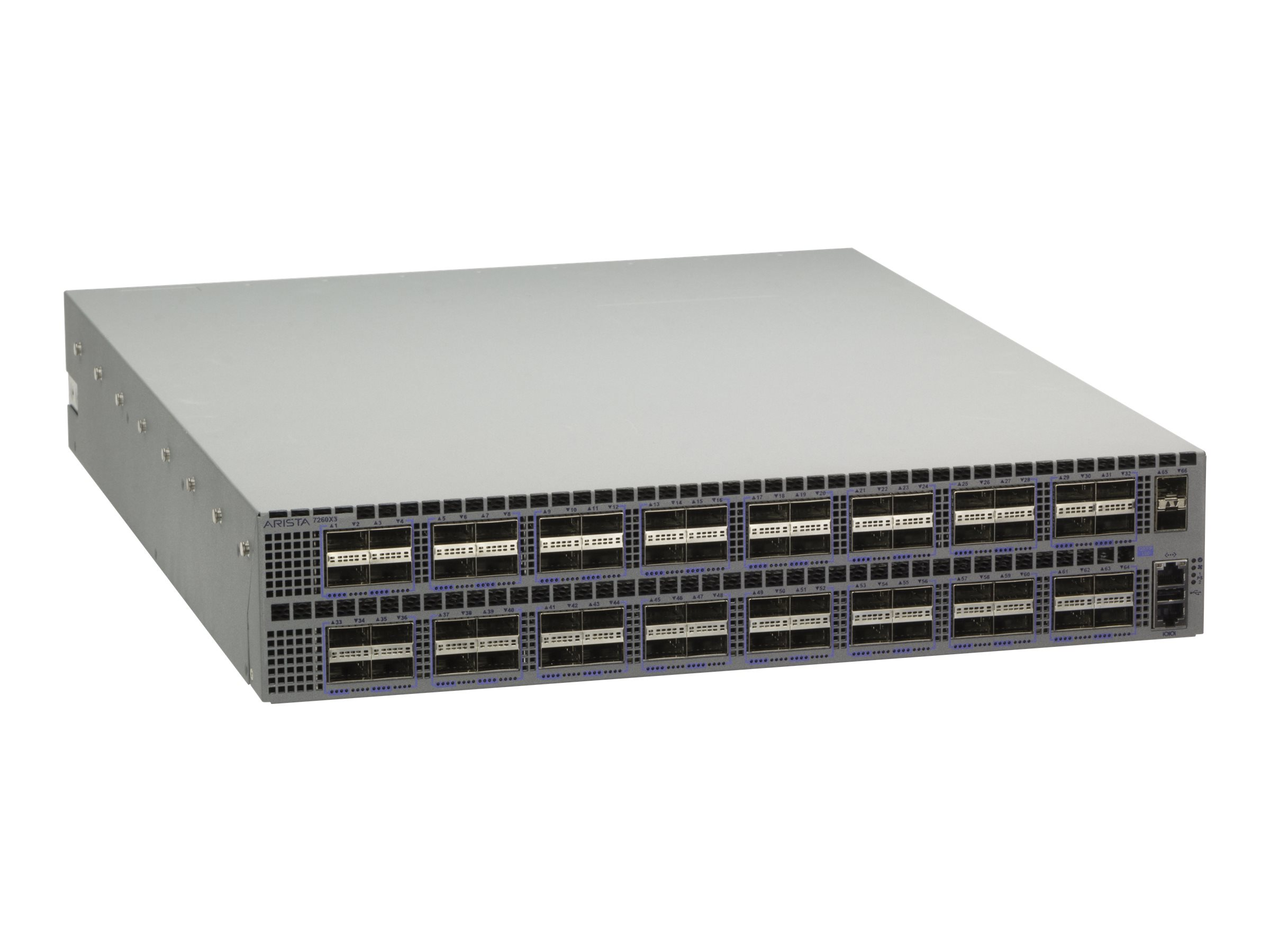 Arista 7250QX-64 - switch - 64 ports - managed - rack-mountable