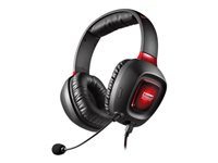 Creative Sound Blaster Tactic3D Rage USB V2.0 Kabling Rød Sort Headset