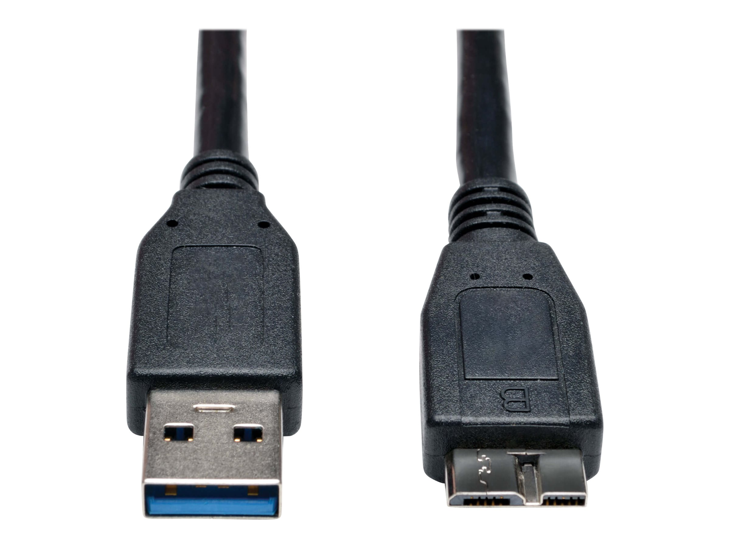 Tripp Lite 1ft USB 3.0 SuperSpeed Device Cable USB-A to USB Micro-B M/M Black 1' - USB cable - 30 cm
