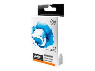 compatibles Brother  Brother LC123 - compatible Switch - cyan - cartouche d'encre