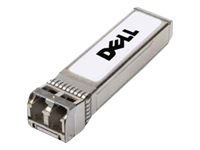 Dell - SFP+ transceiver module - 10 Gigabit Ethernet - 10GBase-SR - up to 300 m - 850 nm - for Networking N4032, X1008, X1018, X1026, X1052, X4012; Open Networking S4810; PowerEdge FX2