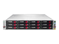 HPE StoreEasy 1650 Expanded Storage - NAS server - 28 bays - rack-mountable - SATA 6Gb/s / SAS 6Gb/s - RAID 1, 5, 6, 10, 50, 60, 1 ADM, 10 ADM - RAM 16 GB - Gigabit Ethernet - iSCSI - 2U