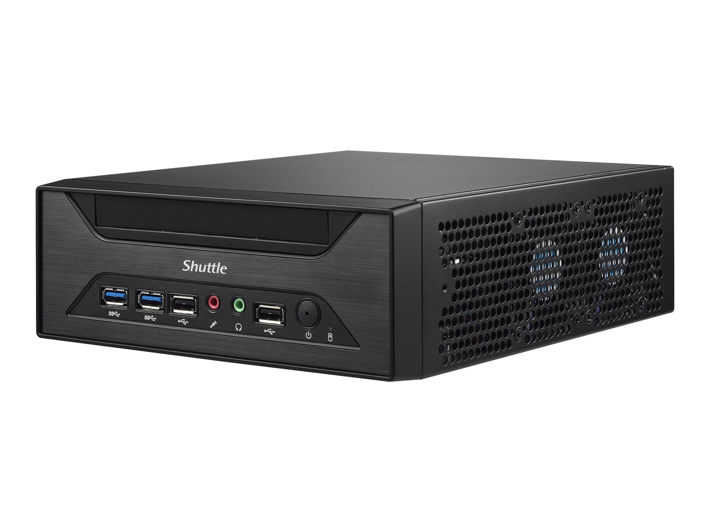 Shuttle XH81 - Barebone - Slim-PC - LGA1150-Sockel - Intel H81 Express - GigE