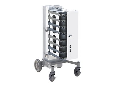 PowerGistics Business Series MObilex8 Cart (charge only) for 8 tablets / notebooks lockable