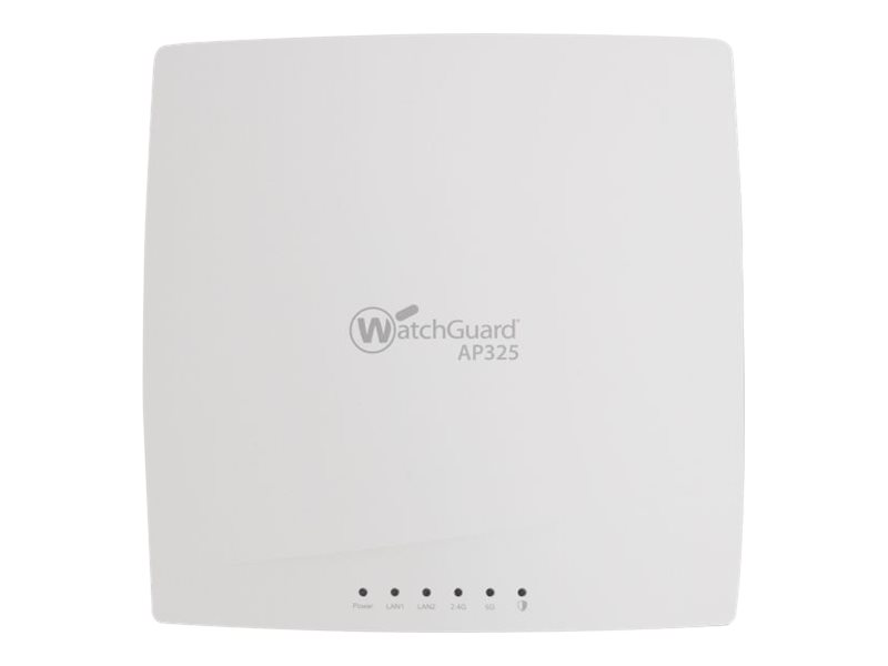 WatchGuard AP325 - wireless access point - WatchGuard Trade-Up Program - with 3 years Secure Wi-Fi