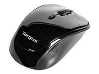 Targus BlueTrace Mouse optical wireless 2.4 GHz USB wireless receiver black image