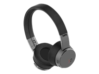 Lenovo ThinkPad X1 - Headphones with mic - on-ear - Bluetooth - wireless - active noise canceling - for ThinkBook 14; ThinkPad E14; T490; X1 Carbon (7th Gen); X1 Yoga (4th Gen); X390