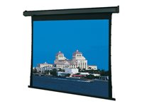 Draper Premier Projection screen ceiling mountable, wall mountable motorized 110 V 1:1