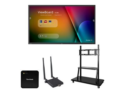 ViewSonic ViewBoard IFP9850 Chrome Bundle 2 98INCH Diagonal Class (97.5INCH viewable) LED display