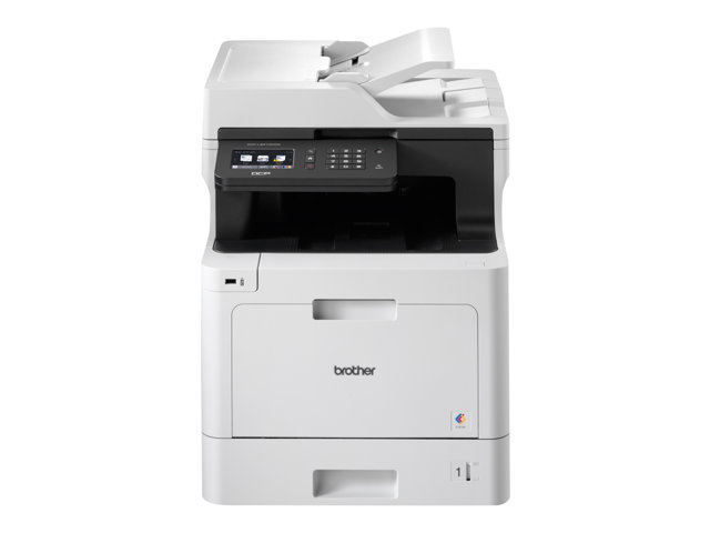 Brother DCP-L8410CDW - Imprimante multifonctions - couleur - laser - 215.9 x 355.6 mm (original) - A4/Legal (support) - jusqu'à 31 ppm (impression) - 300 feuilles - USB 2.0, Gigabit LAN, Wi-Fi(n), hôte USB