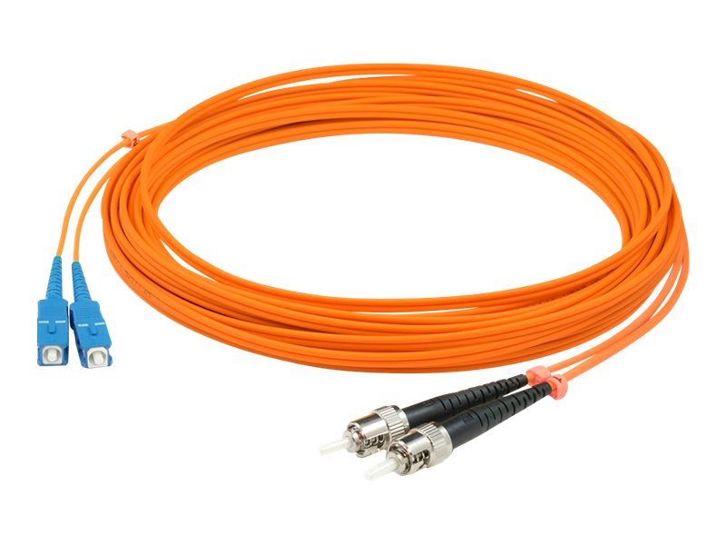 AddOn 2m SC to ST OM1 Orange Patch Cable - patch cable - 2 m - orange