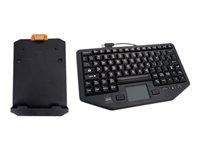 Havis Dual Authentication PKG-KB-204 Keyboard with touchpad backlit USB US