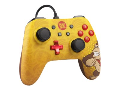 POWER A Character Series Donkey Kong Edition - game pad - cablato