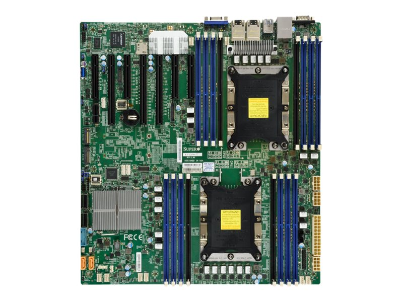 SUPERMICRO X11DPH-T - motherboard - extended ATX - Socket P - C624