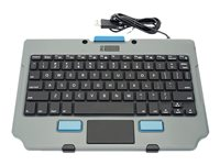Gamber Johnson Rugged Lite Keyboard with touchpad USB wi