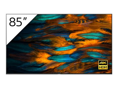 """Sony FW-85BZ40H BRAVIA Professional Displays - 85"""" Class (84.6"""" viewable) LED-backlit LCD display - 4K"""