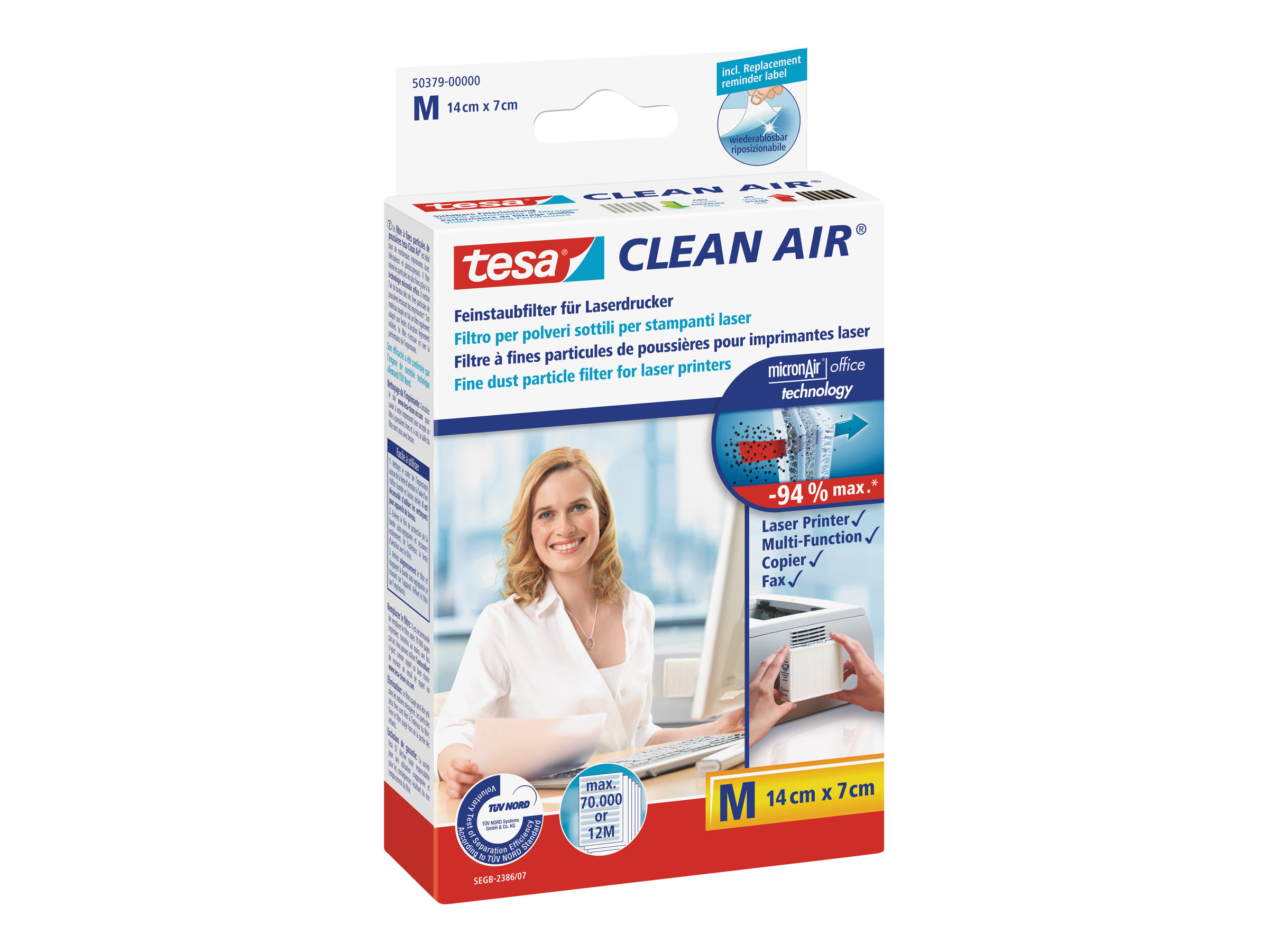 tesa Clean Air Medium - Luftfilter