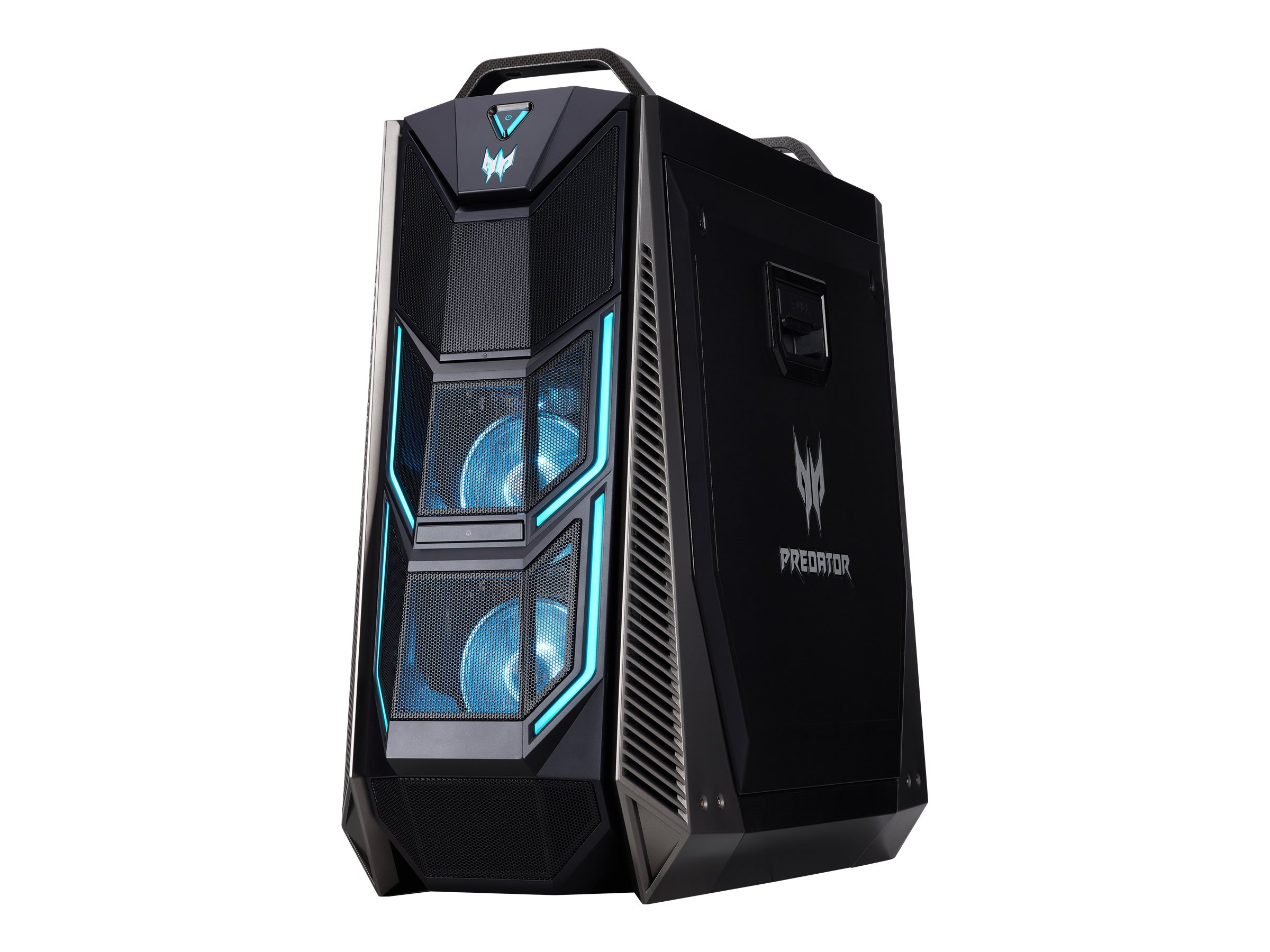 Acer Predator Orion 9000 PO9-600 - tower - Core i7 8700K 3.7 GHz - 32 GB - SSD 512 GB, HDD 2 TB