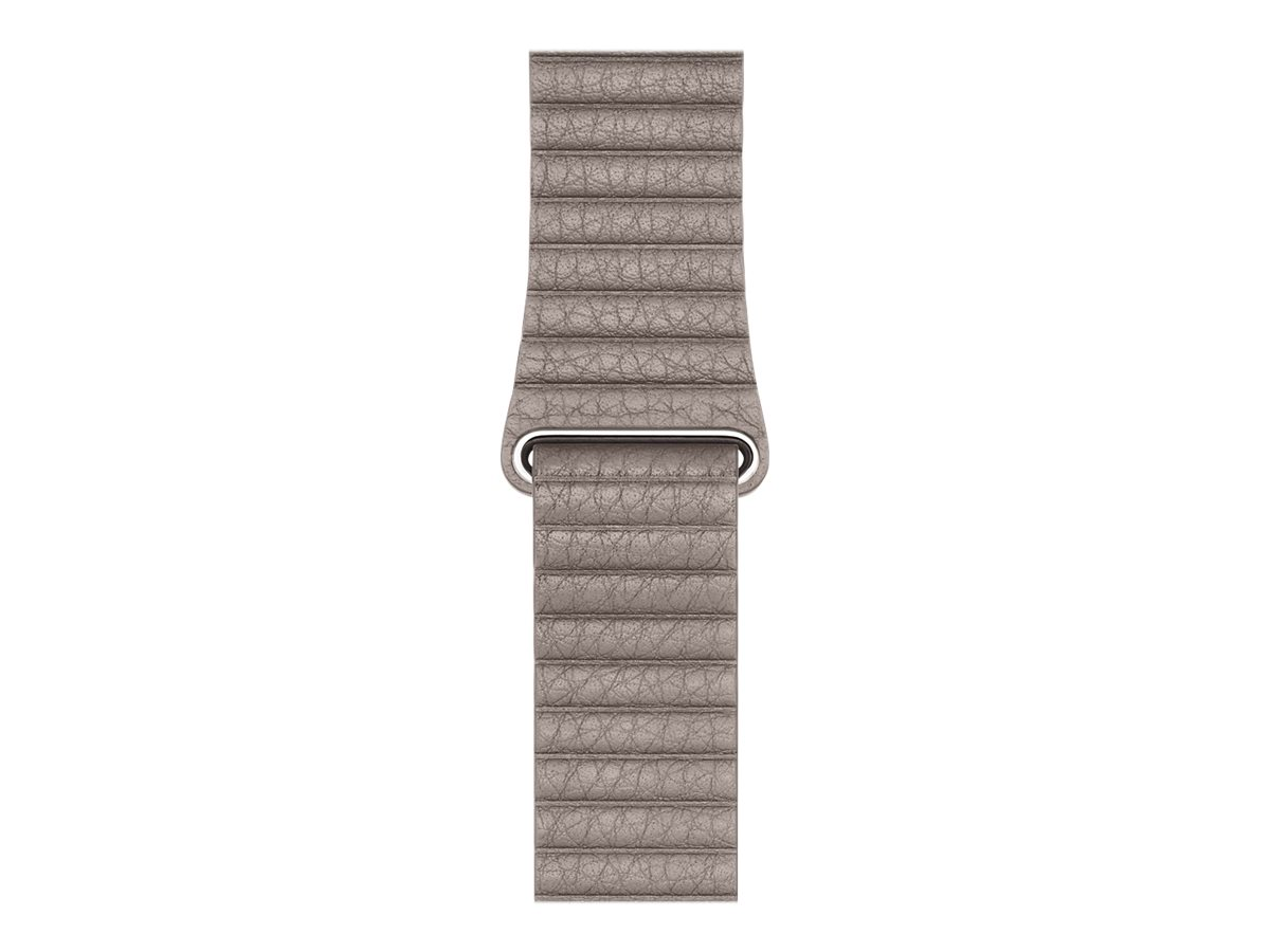 Apple 42mm Leather Loop - Uhrarmband - Large - Smoke Gray - für Watch (42 mm)