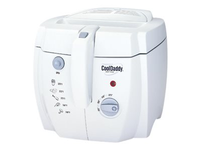 Presto CoolDaddy 05443 Deep fryer 2 qt 1500 W white