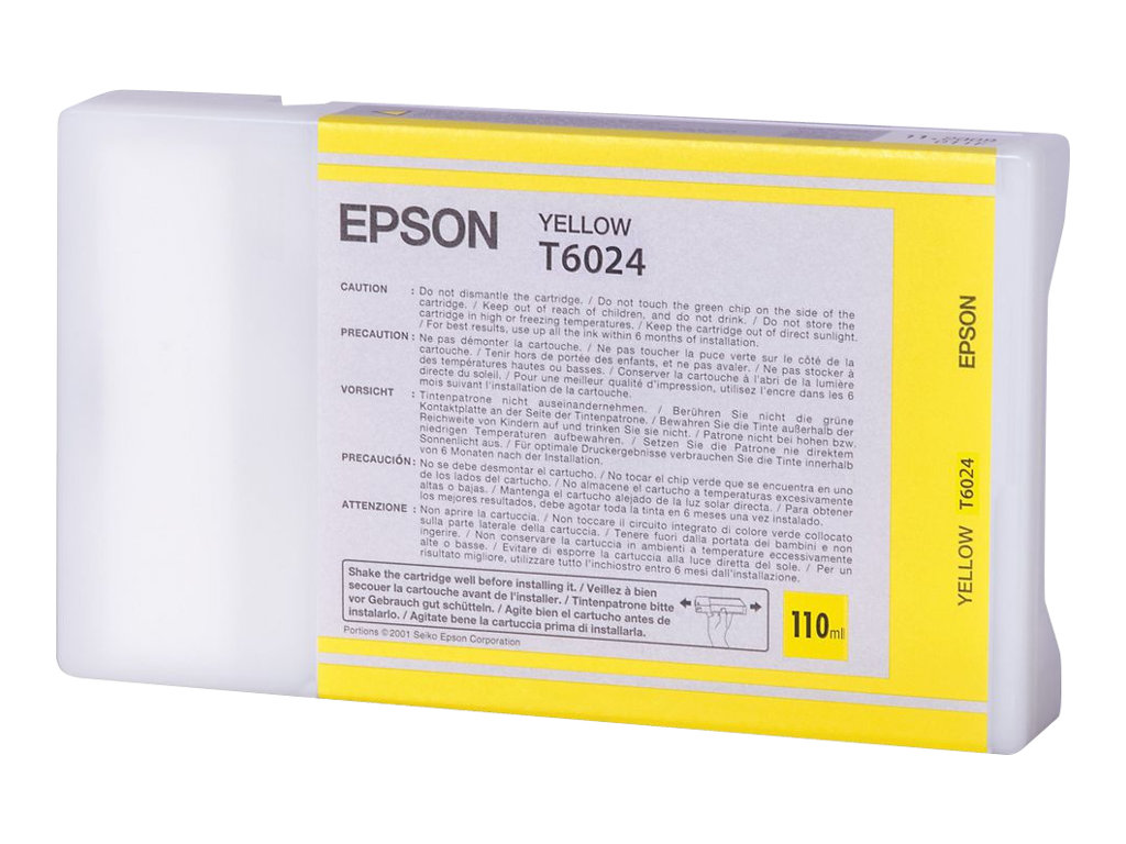 Epson T6024 - yellow - original - ink cartridge