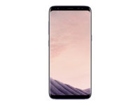 "Samsung Galaxy S8+ - SM-G955F - smartphone - 4G LTE - 64 GB - microSDXC slot - TD-SCDMA / UMTS / GSM - 6.2"" - 2960 x 1440 pixels (529 ppi) - Super AMOLED - 12 MP (8 MP front camera) - Android - orchid grey"
