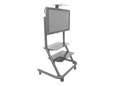 Chief PPC-2000 Cart for flat panel textured black screen size: up to 6