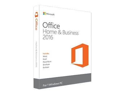 Microsoft Office Home and Business 2016 - Box-Pack - 1 PC - ohne Medien, P2 - Win - Deutsch
