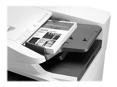 Copieur LaserJet Managed MFP HP E82550dn - vitesse 50ppm vue fermée