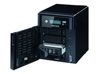 BUFFALO TeraStation 5400 WSS - NAS server - 4 bays - 4 TB - SATA 3Gb/s - HDD 1 TB x 4 - RAID 0, 1, 5, JBOD - RAM 4 GB - Gigabit Ethernet - iSCSI - with 3 years 24-hour TeraStation VIP HDD Exchange Service