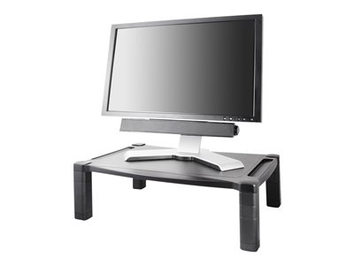 Kantek Extra Wide Deluxe MS500 Stand for monitor / notebook / printer / fax black des