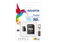 Mem Flash Micro SD 32Gb ADA Adap SD Clase 10