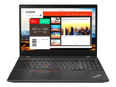 Lenovo ThinkPad T580 20L9 Core i7 8550U / 1.8 GHz Win 10 Pro 64-bit 8 GB RAM  image