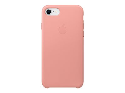 Apple - Back cover for mobile phone - leather - soft pink - for iPhone 7, 8