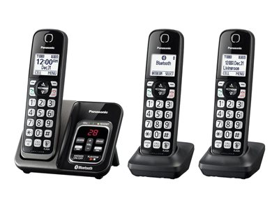 Panasonic Link2Cell KX-TGD563 Cordless phone answering system