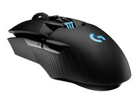 Logitech Wireless Gaming Mouse G903 LIGHTSPEED HERO 16K sensor Optisk Trådløs Kabling Sort