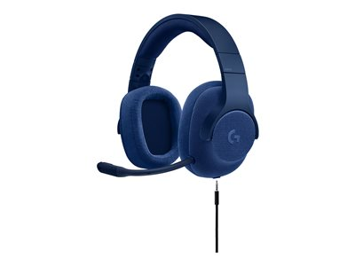 Logitech Gaming Headset G433 Headset 7.1 channel full size wired blue
