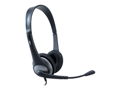 Cyber Acoustics AC 204 Headset on-ear wired