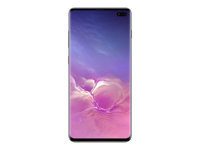 "Samsung Galaxy S10+ - Smartphone - dual-SIM - 4G Gigabit Class LTE - 128 GB - microSDXC slot - TD-SCDMA / UMTS / GSM - 6.4"" - 3040 x 1440 pixels (522 ppi) - Dynamic AMOLED - RAM 8 GB - 3x rear cameras (2x front cameras) - Android - prism black"