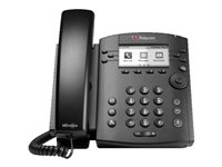 Polycom VVX 311 IP Phone - Cable - Wall Mountable - 6 x Total Line - VoIP - Speakerphone - 2 x Network (RJ-45)