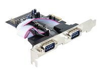 DeLock 4 x serial PCI Express Card - Serial adapter