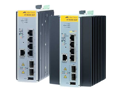 Allied Telesis AT IE300-12GT Switch L3 managed 8 x 10/100/1000 + 4 x Gigabit SFP